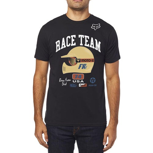 Fox Racing Speedway Premium Short Sleeve T-Shirt - Black