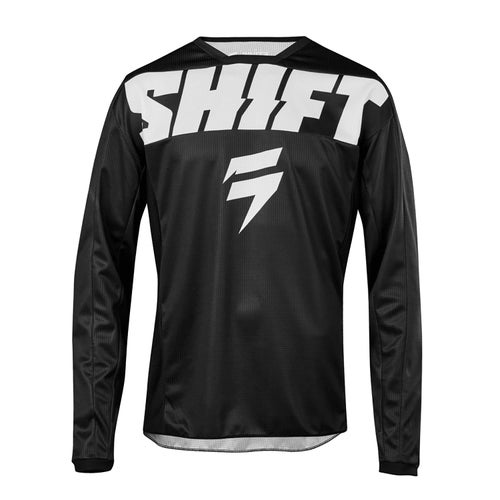 Shift Whit3 Label York Enduro and MX Jersey - Black