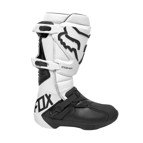 Fox Racing Comp Motocross Boots - White