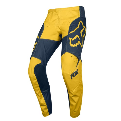 Fox Racing 180 Przm Motocross Pants - Nvy/ylw
