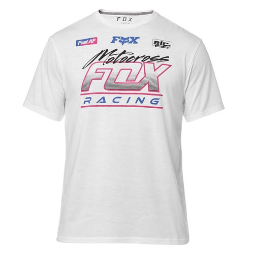 Fox Racing Jetskee Tech Short Sleeve T-Shirt - White