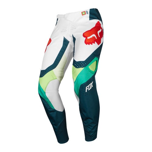 Fox Racing 360 Murc Motocross Pants - Green White
