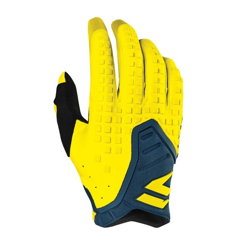 Shift 3Lack Label Pro Enduro Motocross Gloves - Yellow