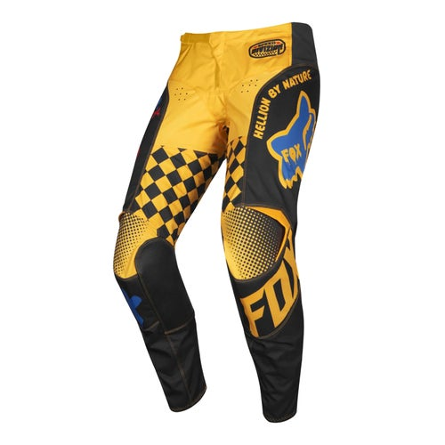 Fox Racing 180 Czar Enduro Boys Motocross Pants - Black Yellow