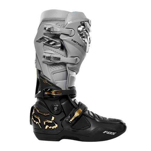 Fox Racing Instinct Motocross Boots - Grey Black