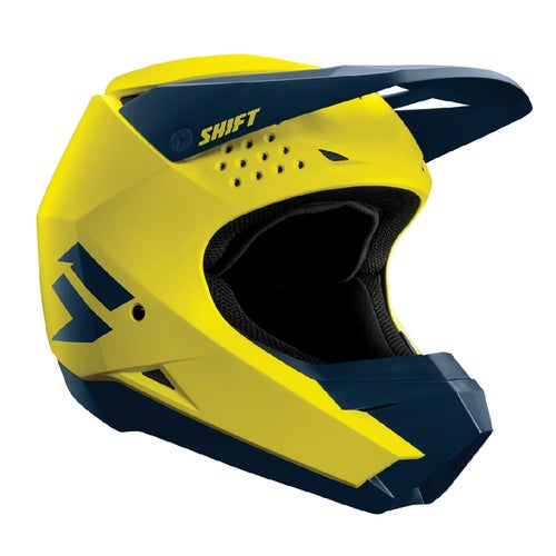 Shift Whit3 Label Enduro Motocross Helmet - Yellow