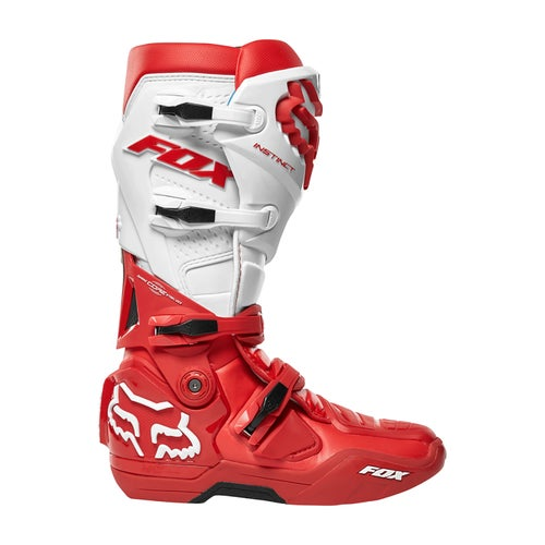 Fox Racing Instinct Motocross Boots - Red