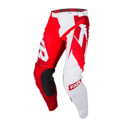 FXR Clutch Podium Motocross Pants - Maroon/red Fade/white