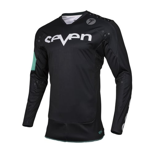 Seven 19.1 Rival Trooper Motocross Jerseys - Black
