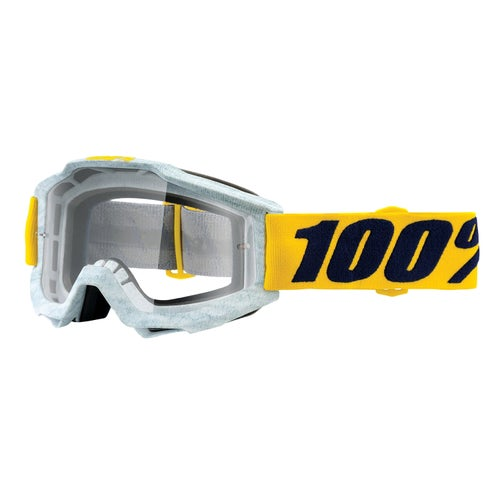 100 Percent Accuri Motocross Goggles - Athleto ~ Clear Lens