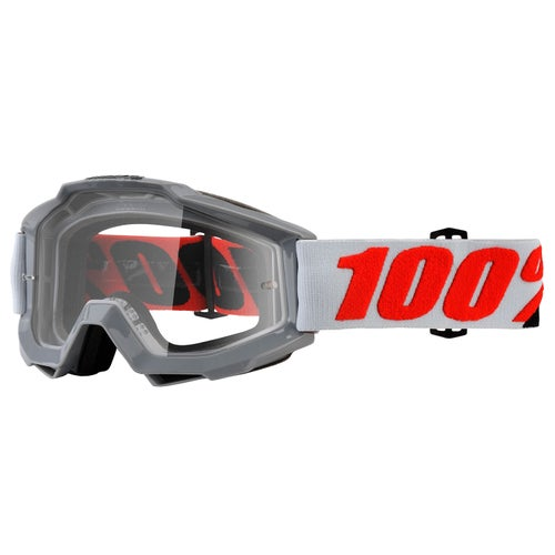 100 Percent Accuri Motocross Goggles - Solberg ~ Clear Lens