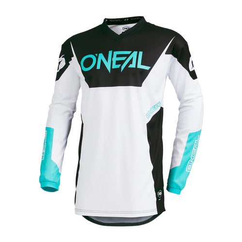 Maillot MX O Neal Element Jersey Racewear - White