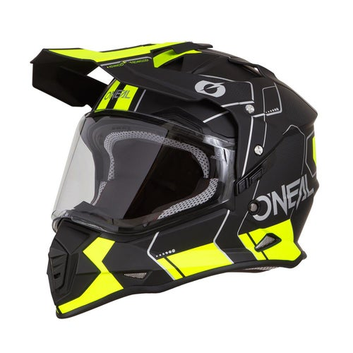 Adventure Helmet O Neal Sierra II Comb - Black/neon Yellow