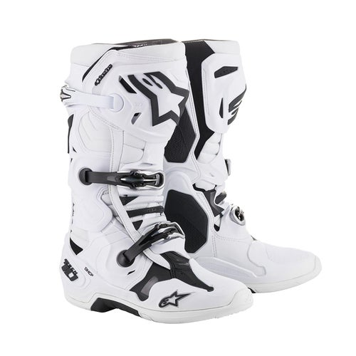 Alpinestars Tech 10 Motocross Boots - White