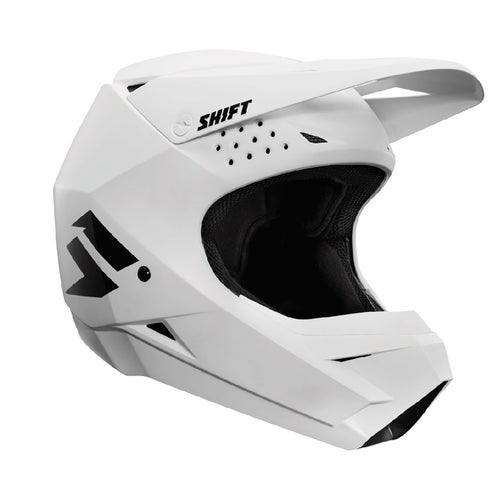 Shift Whit3 Label Enduro Motocross Helmet - White
