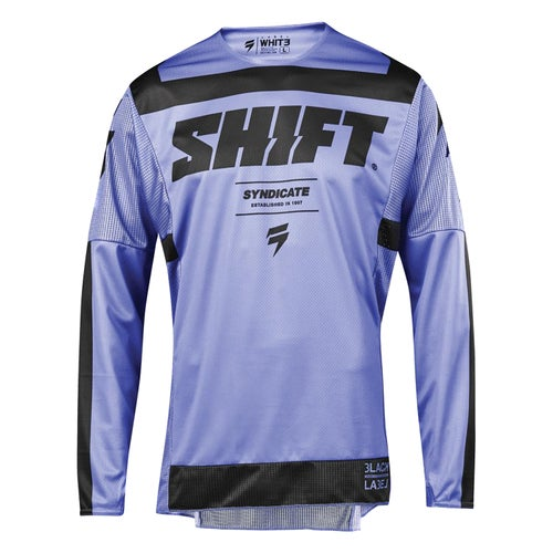 Shift 3Lack label Strike Enduro MX Jersey - Purple