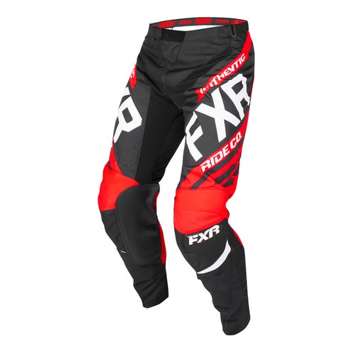 FXR Clutch Retro Motocross Pants - Black/red/white