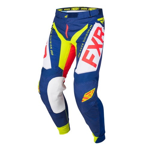 FXR Helium Le Motocross Pants - Navy/lt Grey/red/hivis