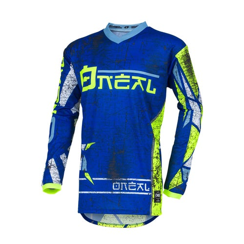 O Neal Element Zen Motocross Jerseys - Blue