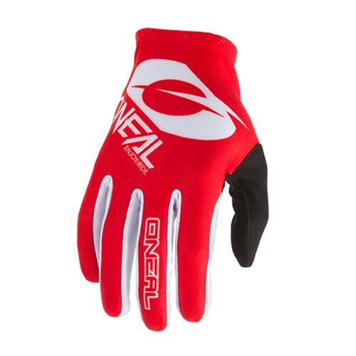 O Neal Matrix Glove Icon Motocross Gloves - Red