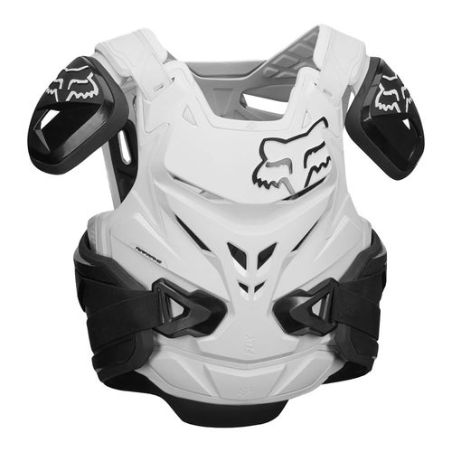 Fox Racing Airframe Pro Jacket Roost Deflectors - Black White