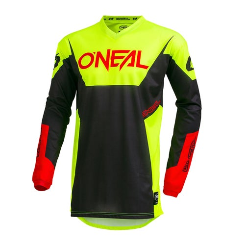 Maglia MX O Neal Element Jersey Racewear - Neon Yellow