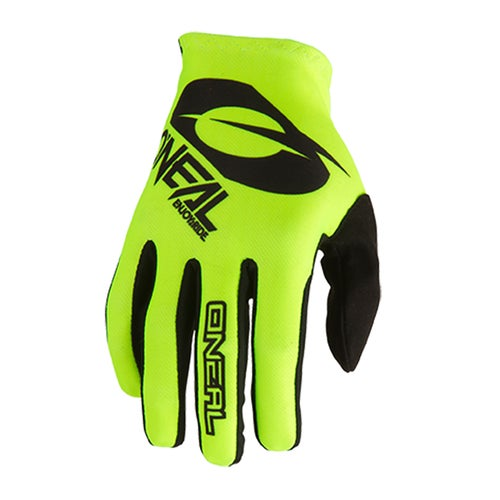 O Neal Matrix Glove Icon Motocross Gloves - Neon Yellow