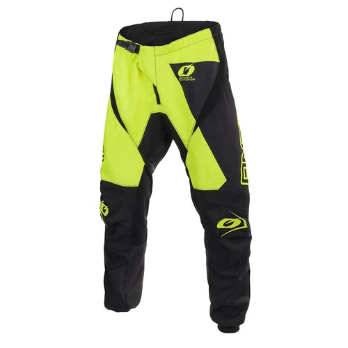 Pantaloni MX O Neal Matrix Pants Ridewear - Neon Yellow
