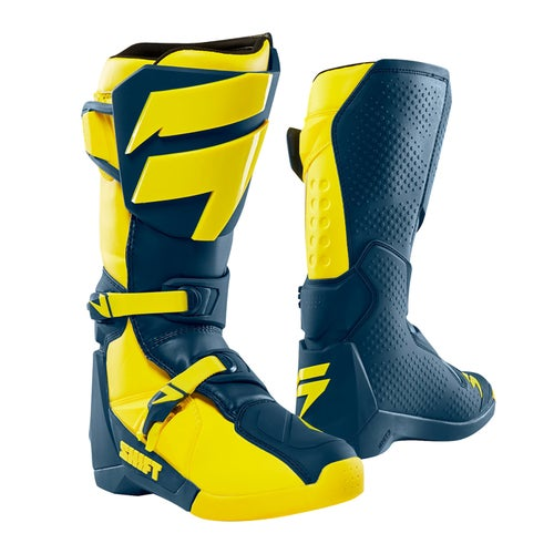 Shift Whit3 Label Motocross Boots - Yellow