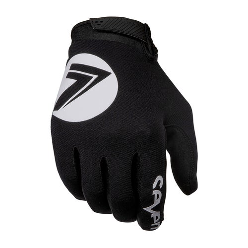Seven 19.1 Annex 7 Dot Motocross Gloves - Black