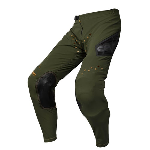 Seven 19.1 Zero Victory Motocross Pants - Olive Orange