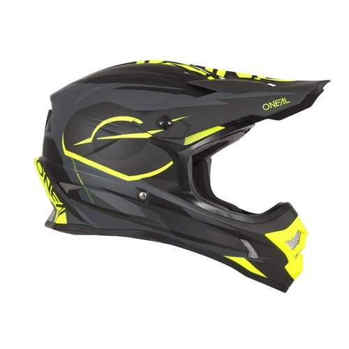 Casco MX O Neal 3series Helmet Riff - Black