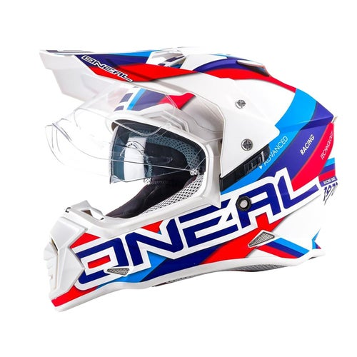 O Neal 3series Zen Motocross Helmet - Orange