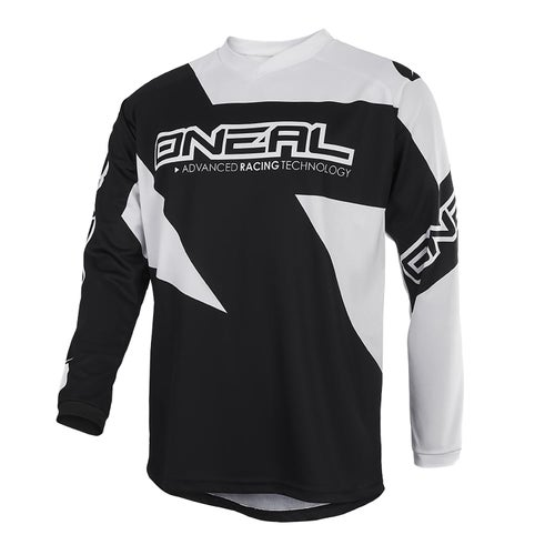 O Neal Matrix Jersey Ridewear Motocross Jerseys - Black