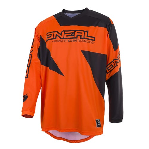 Maglia MX O Neal Matrix Jersey Ridewear - Orange