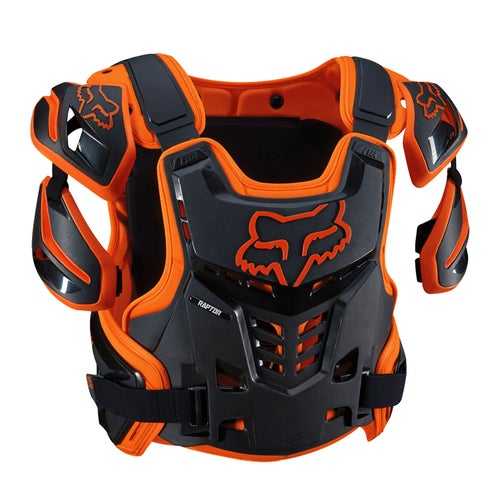 Fox Racing Raptor Vest Roost Deflectors - Orange