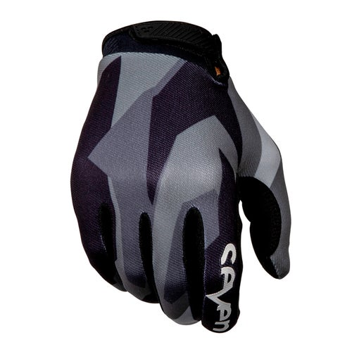 Seven 19.1 Annex Raider Motocross Gloves - Black Grey