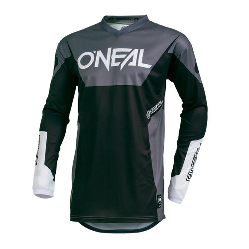 Maglia MX O Neal Element Jersey Racewear - Black