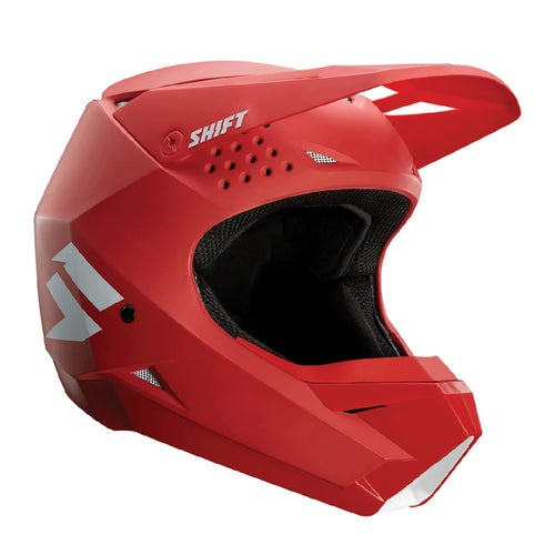 Shift Whit3 Label Enduro MX Hjelm - Red
