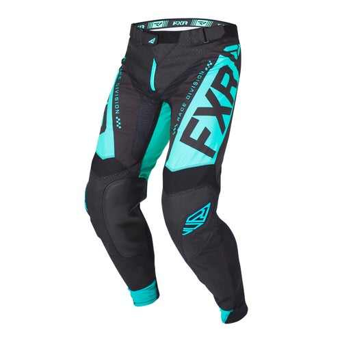 FXR Helium Motocross Pants - Black/mint