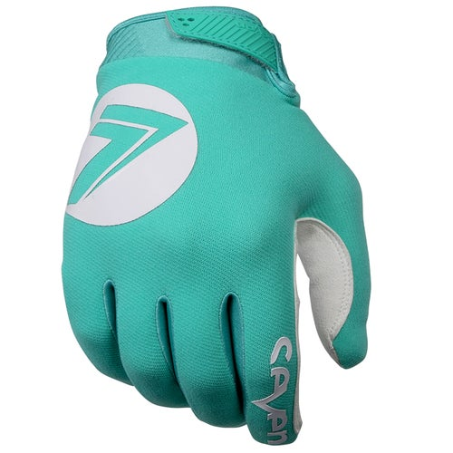 Seven 19.1 Annex 7 Dot Motocross Gloves - Aqua