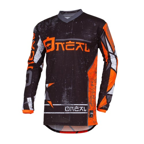Maglia MX O Neal Element Zen - Orange