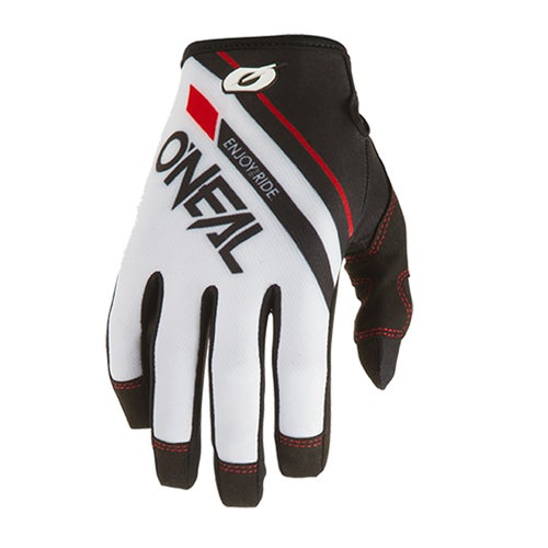 O Neal Mayhem Glove Rizer Motocross Gloves - White