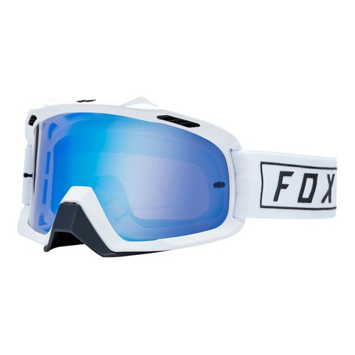 Fox Racing Air Space Gasoline Motocross Goggles - White