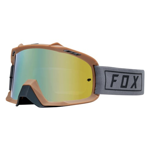 Fox Racing Air Space Gasoline Motocross Goggles - Grey