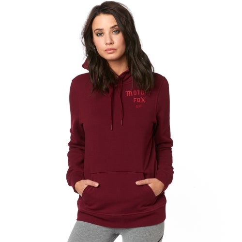 Fox Racing Arch Dames Pullover Hoody - Cranberry