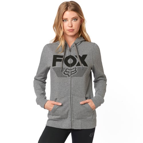 Fox Racing Ascot Zip Dames Fleece - Heather Graphite