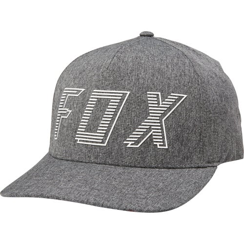 Fox Racing Barred Flexfit Cap - Drk Gry