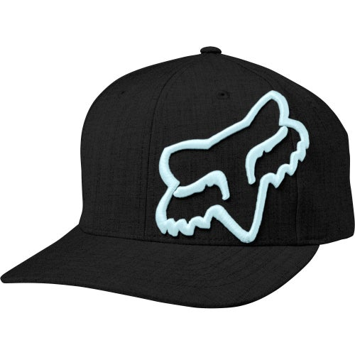 Fox Racing Clouded Flexfit Cap - Blk/blu