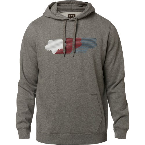 Fox Racing Faded Pullover Hoody - Htr Graph